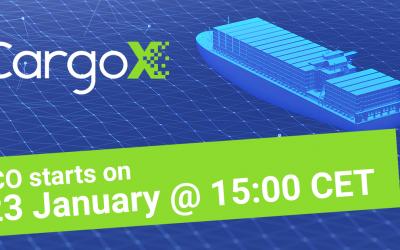 Slovenski ICO CargoX zbral 7 milijonov v osmih minutah!
