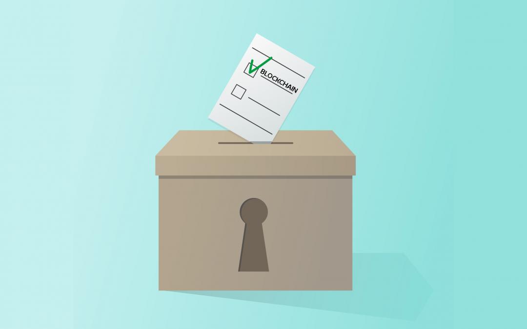 Prve slovenske volitve na blockchain tehnologiji!